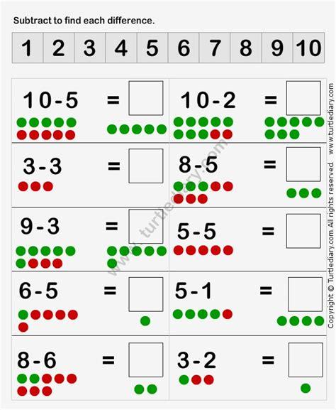 printable subtraction games for kindergarten 37 best subtraction worksheets images on pinterest