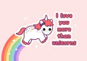 Wall Stickers Love Quotes quot i love you more than unicorns quot greeting cards by sugarhai