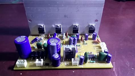 assemble  home theater amplifier board based