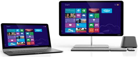 Laptop Or Desk Top by Vizio Prices New Line Of Laptops Desktops Ubergizmo