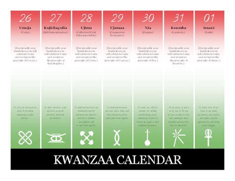 kwanzaa calendar for microsoft personal access