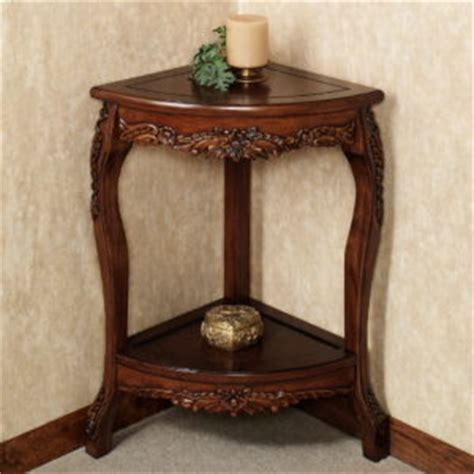alluring small corner accent table decor ideas home mirrored dresser home furniture features varnished wooden