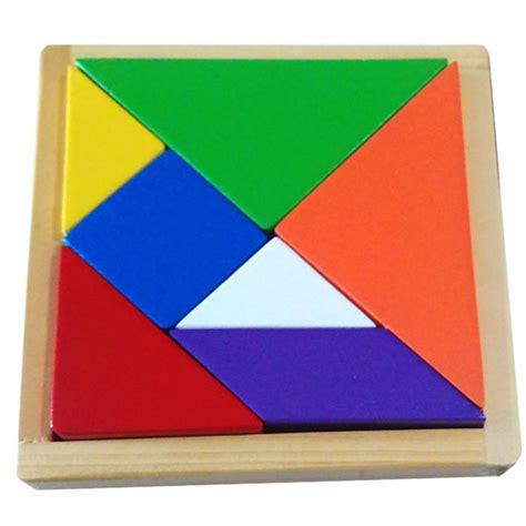 Puzzle Kayu Tangram jual mainan edukatif permainan tangram puzzle ajaib