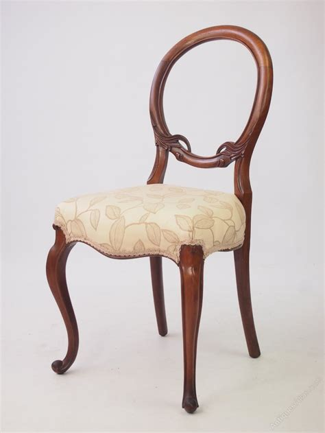 antique back chairs walnut balloon back chair antiques atlas