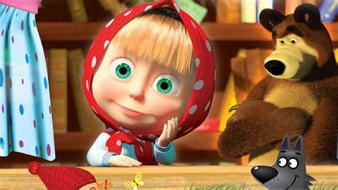 misteri film masha n the bear masha and the bear cartoon n cute pinterest cartoon