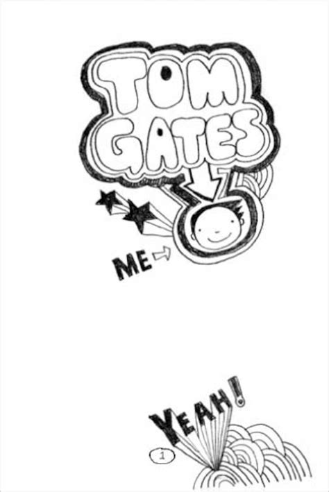 how to draw a tom gates doodles tom gates 1 the brilliant world of tom gates