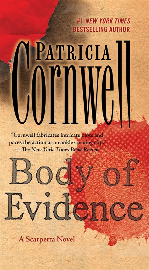evidence of books of evidence book by cornwell official