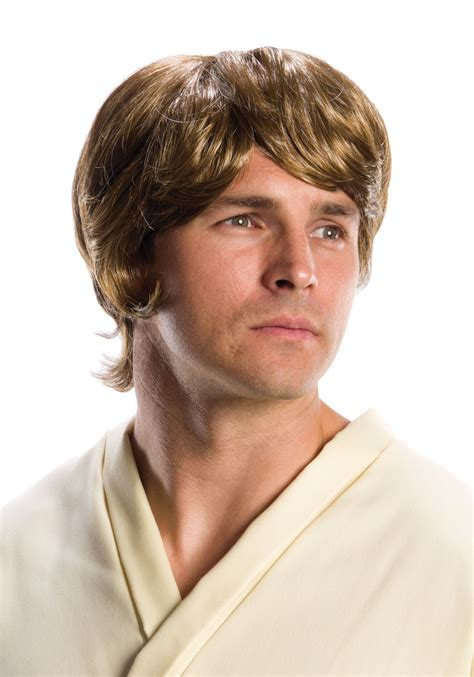 star wars luke skywalker wig