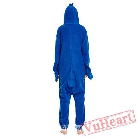 blue penguin onesie pajamas costumes for