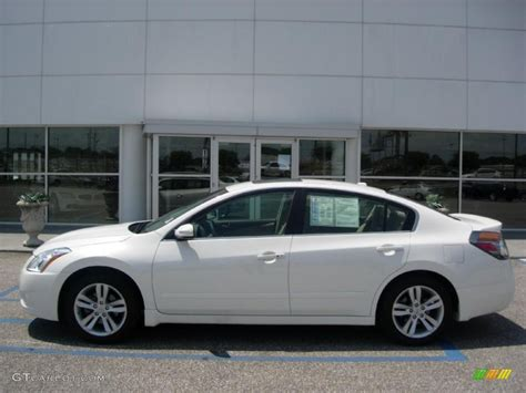 nissan altima white 2010 2010 winter white nissan altima 3 5 sr 48770393