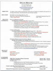 resume titles that stand out exles of personification developing a great online resume agcareers com