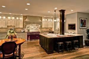 L Shaped Kitchen With Island Kitchen Great Room Designs Kitchen Great Room Designs And