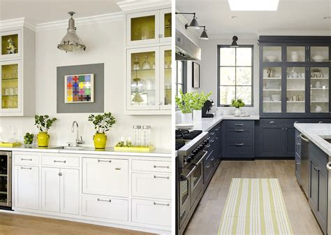 yellow and gray kitchen stephmodo gorgeous gray kitchen with yellow accents