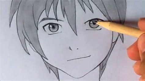 imagenes de ojos faciles para dibujar como dibujar ojo anime masculino youtube