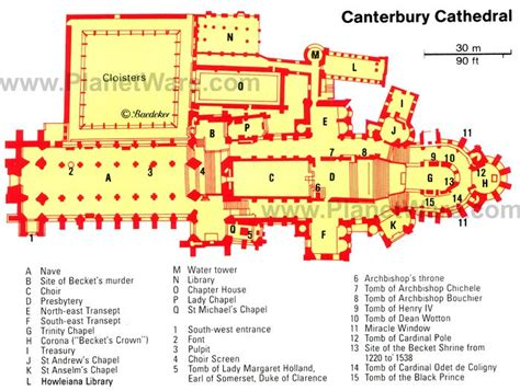 Notre Dame Paris Floor Plan Murder And Majesty Top 10 Highlights Of Canterbury