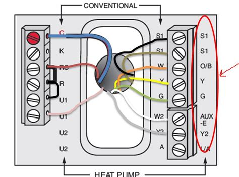 emerson heat thermostat wiring diagram emerson