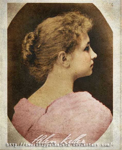 Helen Keller Profile By Livadialilacs On Deviantart Helen Keller Coloring Page For