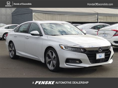 Honda Accord New Model 2018 by New 2018 Honda Accord Sedan Touring Cvt Sedan In Escondido