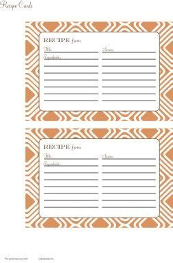 thanksgiving recipe card template 426 best recipe cards templates images on