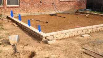 Paver Patio Slope How To Build A Paver Patio On A Slope Paver Patio Slope Wall Fix 2 Jpg Projects For