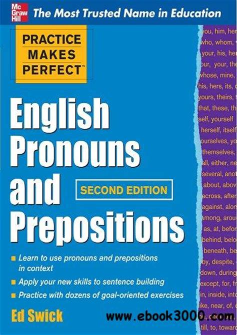 perfect exposure 2nd edition practice makes perfect english pronouns and prepositions second edition free ebooks download