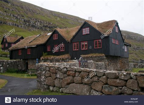 oldest house in the world kirkjub 248 argar 240 ur is the oldest still inhabited wooden house of the stock photo