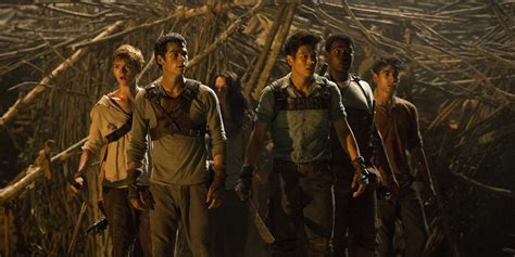the maze runner film images the first official poster of all the times you ll unexpectedly laugh during the maze