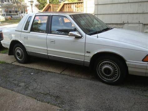 1994 chrysler lebaron sell used 1994 chrysler lebaron landau sedan 4 door 3 0l