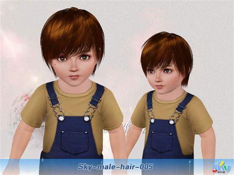 sims 3 child hair skysims hair 005 toddler