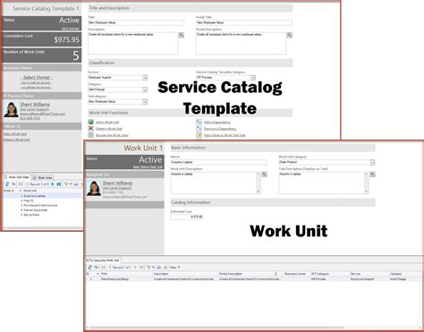 it service catalogue template service catalog template work unit light mapp