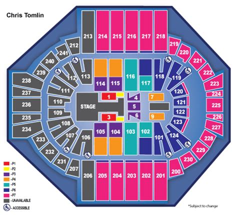 xl center seating chart with seat numbers concert xl center