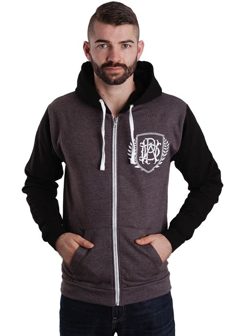 Zipper Parkway Drive Hitam Banaboo Shopping Parkway Drive Crest Charcoal Black Zipper Impericon