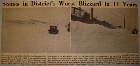 worst blizzard in us history vintage johnstown worst blizzard in 11 years