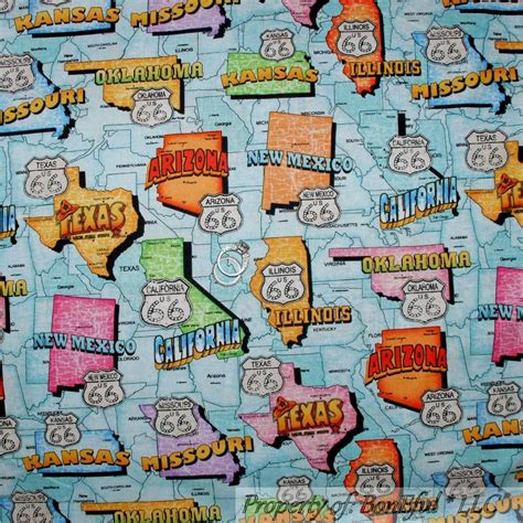 Quilt Fabric Stores Usa by Boneful Fabric Fq Cotton Quilt America Usa Car Harley