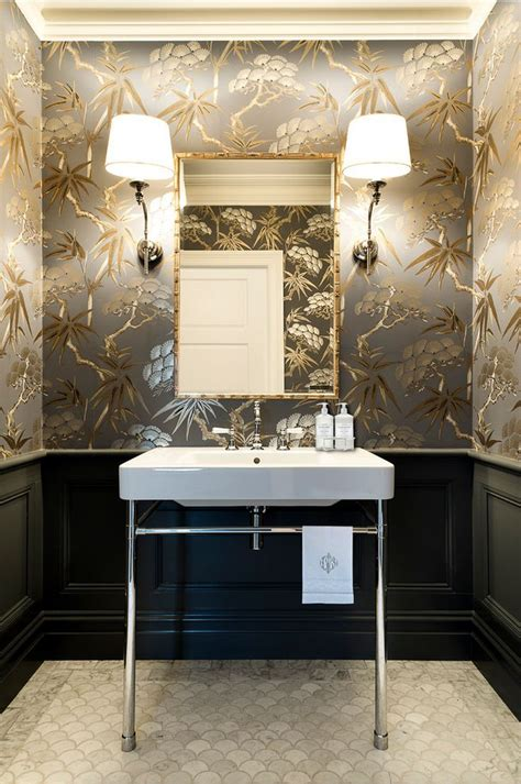 powder room renovation ideas aston design powder room renovation chinoiserie
