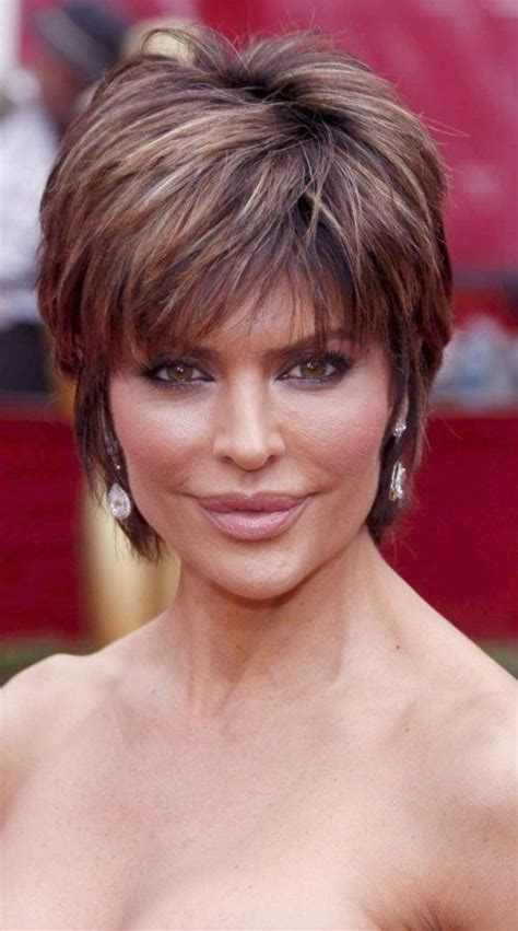 back view of nina rinna hair lisa rinna mature hairstyles hair pinterest