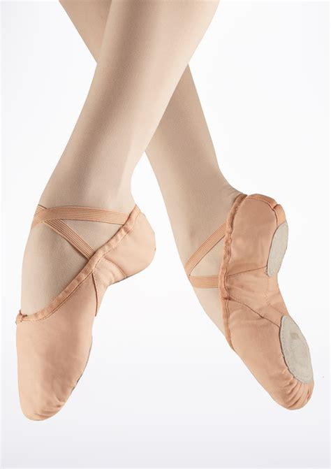 freed canvas split sole ballet shoe pink move dancewear 174