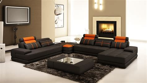Lounge Sofas And Chairs Design Ideas Black Leather Adorable Luxury Modern Recliner Chairs Sofa Bed Cruze Orange Loveseat Corner