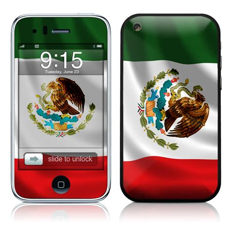 Phone Lookup Mexico Mexican Flag Iphone 3gs Skin Istyles