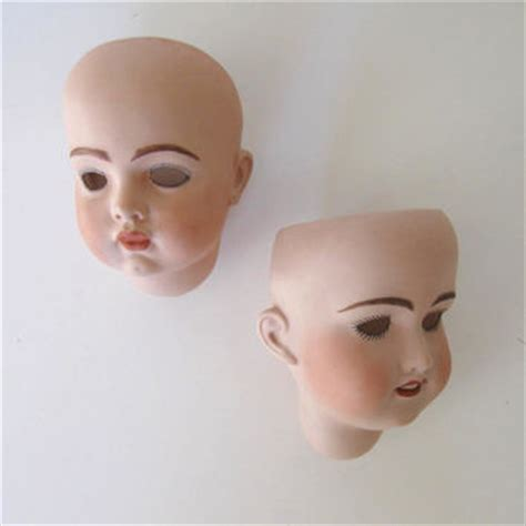 reproduction bisque doll heads shop doll heads for crafts on wanelo