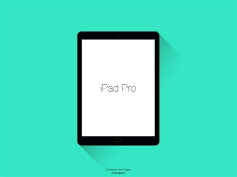 flat design ipad mockup flat ipad pro mockup freebie download photoshop resource