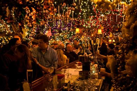 rolfs bar rolf s must see holiday lights big beers and more new york