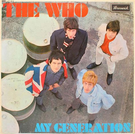 who sings my the who my generation at discogs