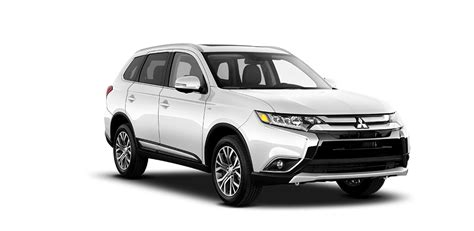 white mitsubishi outlander 2018 mitsubishi outlander exterior color options