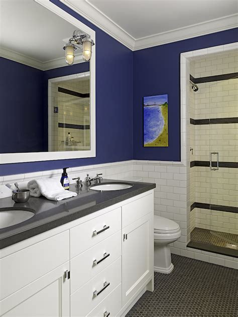 boys bathroom decorating ideas blue boy s bathroom cottage bathroom tamara mack design