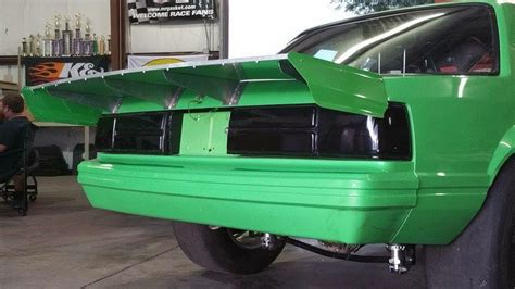 mustang aluminum wing fox mustang aluminum spoiler pictures to pin on