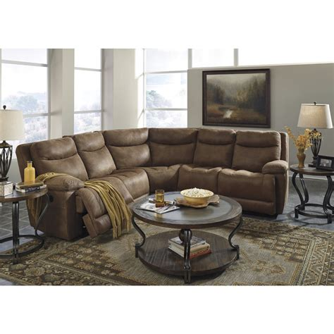 sectional sofas at ashley furniture ashley furniture valto sectional in saddle local
