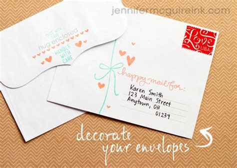 Decoration Enveloppe by Decorate Your Envelopes Mcguire Ink