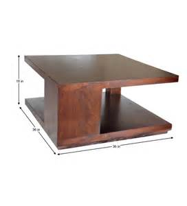 center tables basil square center table by mudramark online