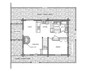 Log Floor Plans Log Home Floor Plan Durango